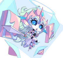 Pastel-Knight Chibi Oedipal, Aria (New Owner) by LillinApocalypse