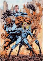 Fantastic Four by gregohq