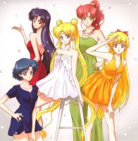 Sailor Moon Crystal  Character Song Collection by TsukiHenshin