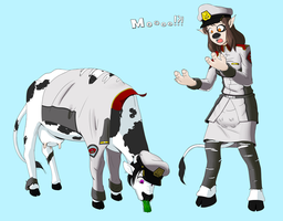 Cow morphs by NormalDeviant
