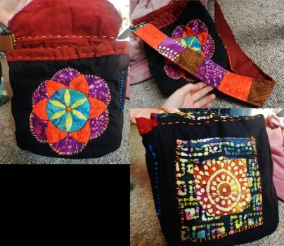 Flower of Life Bag by PoisonJARCreations