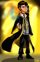 Squad and Friends as Hogwarts Students: Algenis by lollypop081