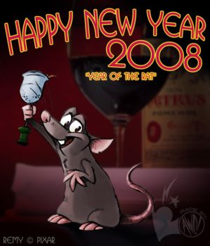 Year of the Rat by AndrewDickman