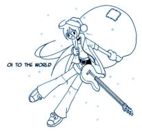 Holidaze 05: Oi to the World by mell0w-m1nded