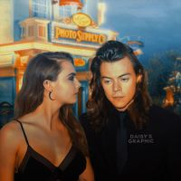Harry Styles and Cara Delevingne [Manip] by DaisyChan55