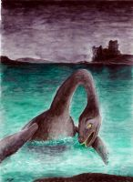 The Loch Ness Monster by marioPulido
