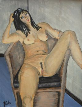 Femme assise by 22h15
