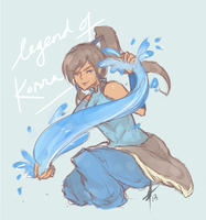 LoK - Happy Korra Day by sachixakechi