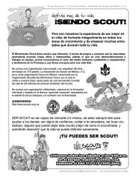 Flyer promocional Scouts by rsalex