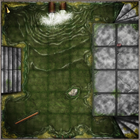 Dungeon Tiles Sewers by SaintJG