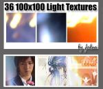 30 100x100 Light Textures by thexunknown
