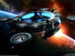 Starbase Roddenberry Dawn by Euderion