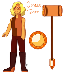 Orange Topaz by Freaky5432