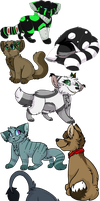 Christmas Fullbody Gifts by Icedog-McMuffin