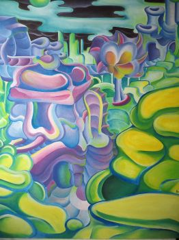 Psychedelic Planit by jeremiahkauffman