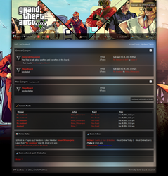 GTA V SMF 2.1 Theme by Boban031