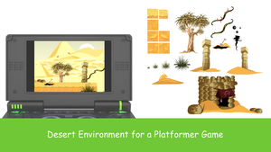 Desert Env by Sylphiren