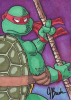 Sketch Card #3 - Donatello by JasonRocket