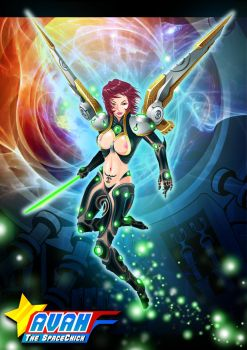 AVAH The SpaceChick by timwork