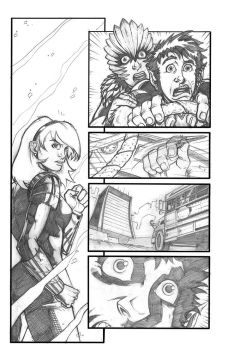 Teen-Titans Test Page by anthonymarques