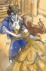 MC and Jumin Beauty and the Beast by Voiii