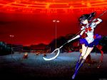 Sailor Saturn And Tomoe Hotaru by Ashkanie2