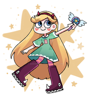 Star Butterfly by sushiining