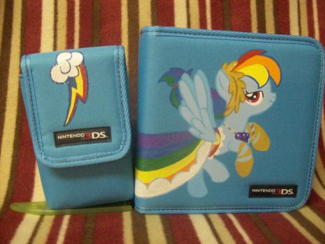 Rainbow Dash 3DS Case A by psaply