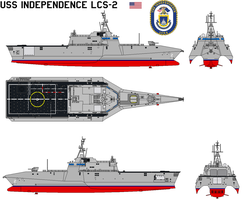USS Independence LCS-2 by bagera3005