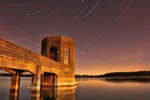 Water Tower Star Trails by ChrisDonohoe