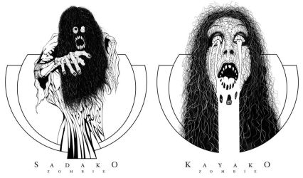 Sadako Kayako by dholms