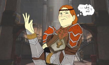 aveline didn't sign up for this by carrotycake