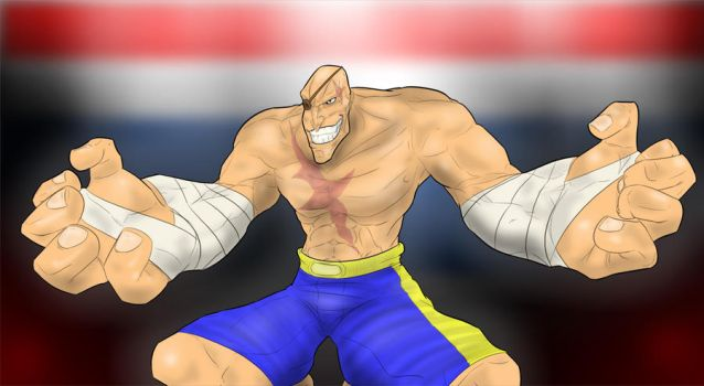 Sagat by DemonSabin