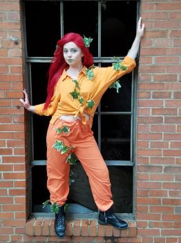 Iron City Cosplay Day: Prison Poison Ivy by Sweetypea0725