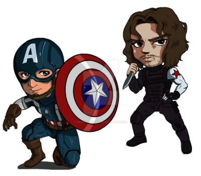 Captain America Winter Soldier by digikolobong