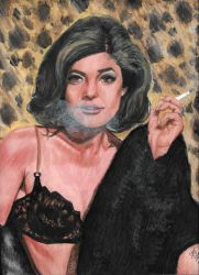 Anne Bancroft - Mrs. Robinson - The Graduate by smjblessing