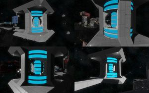 Space Engineers - Main Reactor Design Idea by Shroomworks