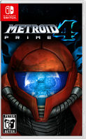 Metroid Prime 4 Nintendo Switch Cover by PeterisBeter