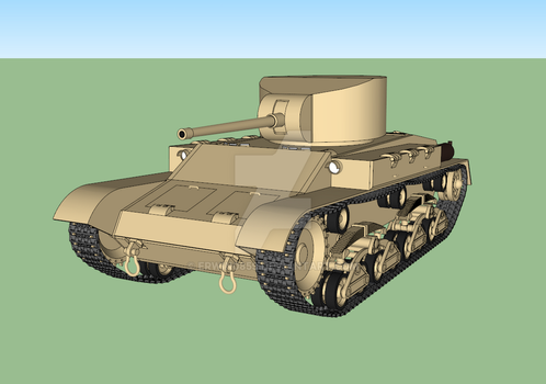 Sabaku medium tank WIP #3,1 by Erwin0859