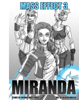 Mass Effect 3: Miranda Cover