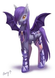 Commission-Batpony by amy30535