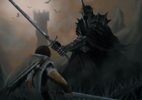 talion and the witch king by devenum