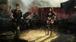Another day in the Wasteland by SalvadorTrakal
