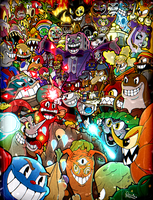 Cuphead Complete! by BrokenHAX