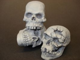 3 brothers bungled... by steveyoungsculptor