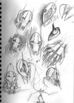 Grievous sketches by 7x77