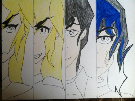 The Battle Formation! The Four Unite! by TheAnimeKnight