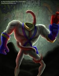 Earthworm Jim by Stilltsinc