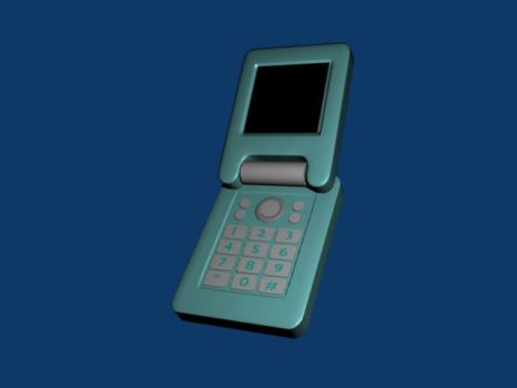 Clunky mobile phone by CariadJ