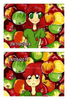 before and after by Risa-Misuki